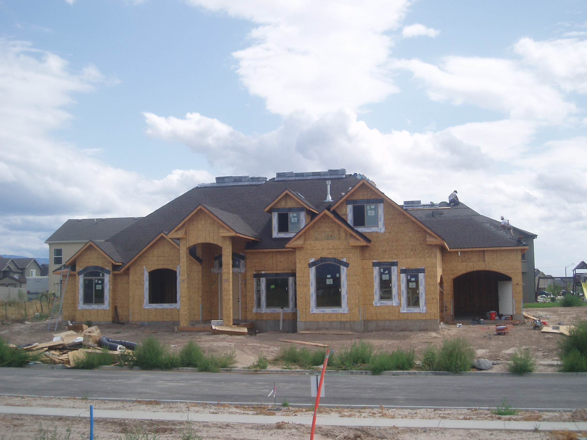 new construction roofing Utah